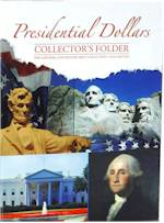 Presidential Dollar Folders and coins